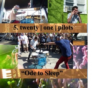 5. twenty one pilots